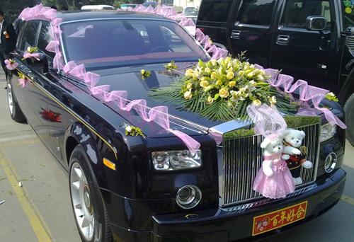 北京劳斯莱斯婚车租赁服务